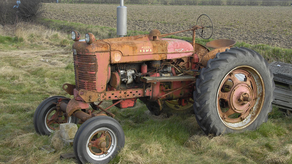 Search for Britain's oldest working tractor begins