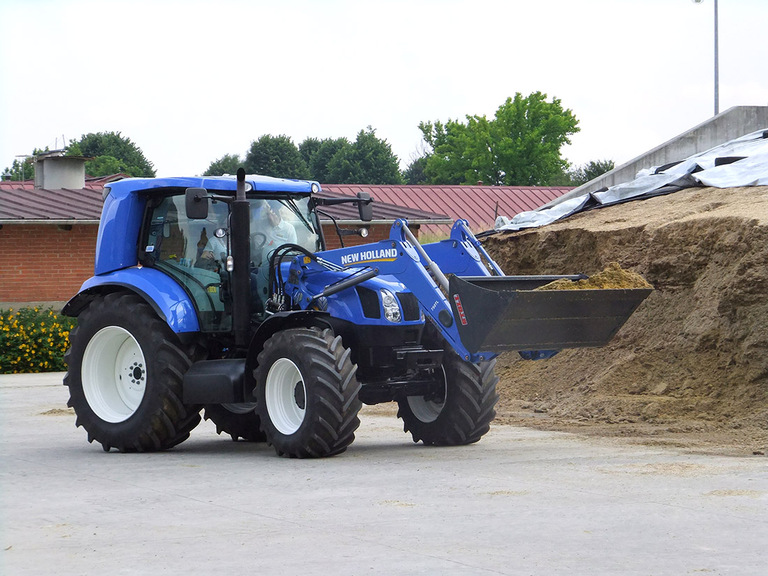 Methane powered tractors; fashion or future?