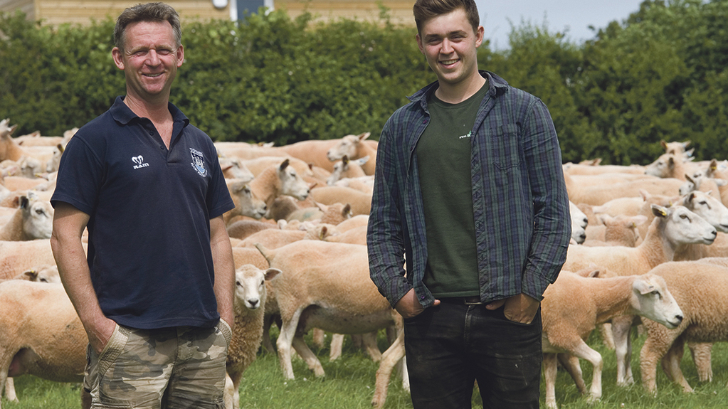 New entrant pioneers Highlander sheep and helps young farmers get foot on farming ladder