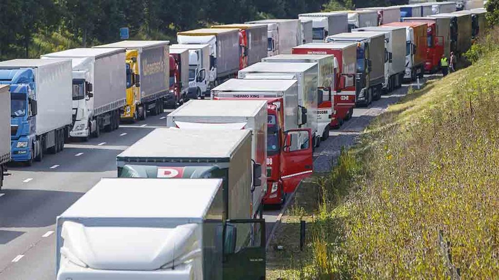 Kent farmers hampered by Operation Stack