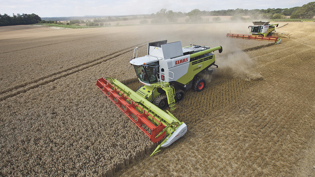 Engine emissions drive latest Claas combine updates