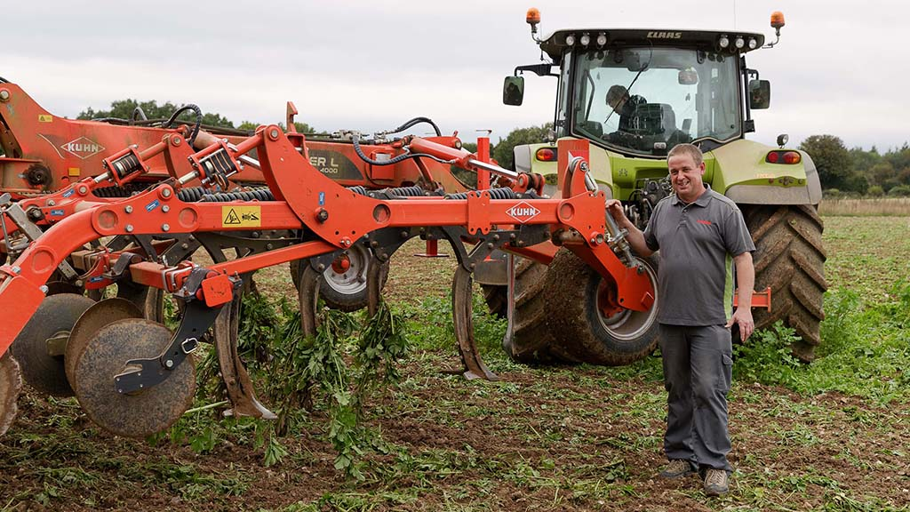 The reduced tillage cost cutter