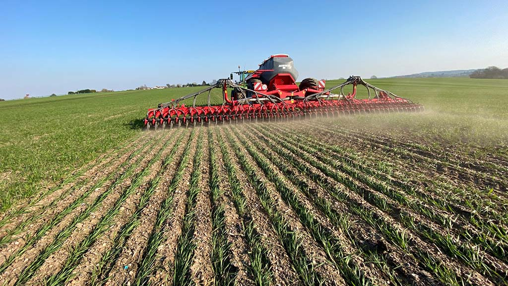 The grower who is dedicated to direct drilling
