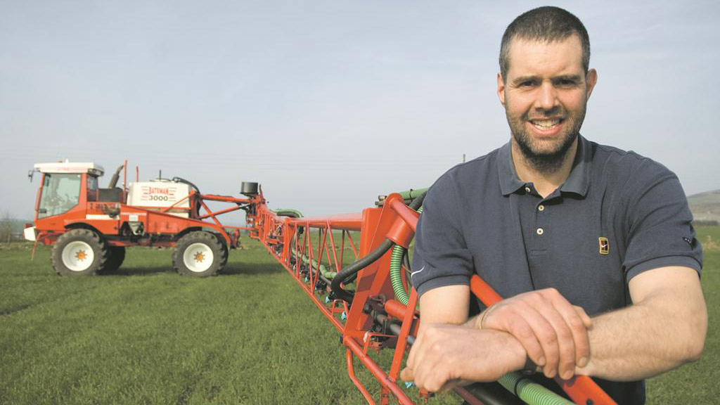 Peter Chapman: Sympathy for those with flooded farms, and a great start for five farming interns