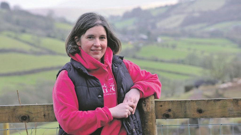 Rachel Lewis-Davies: Over the wall farming on a visit to the Peak District