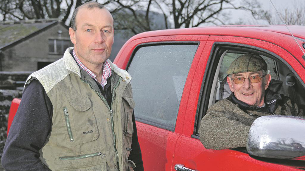 Tony Shepherd and John Henderson: Share farming progress and stock sales on an up