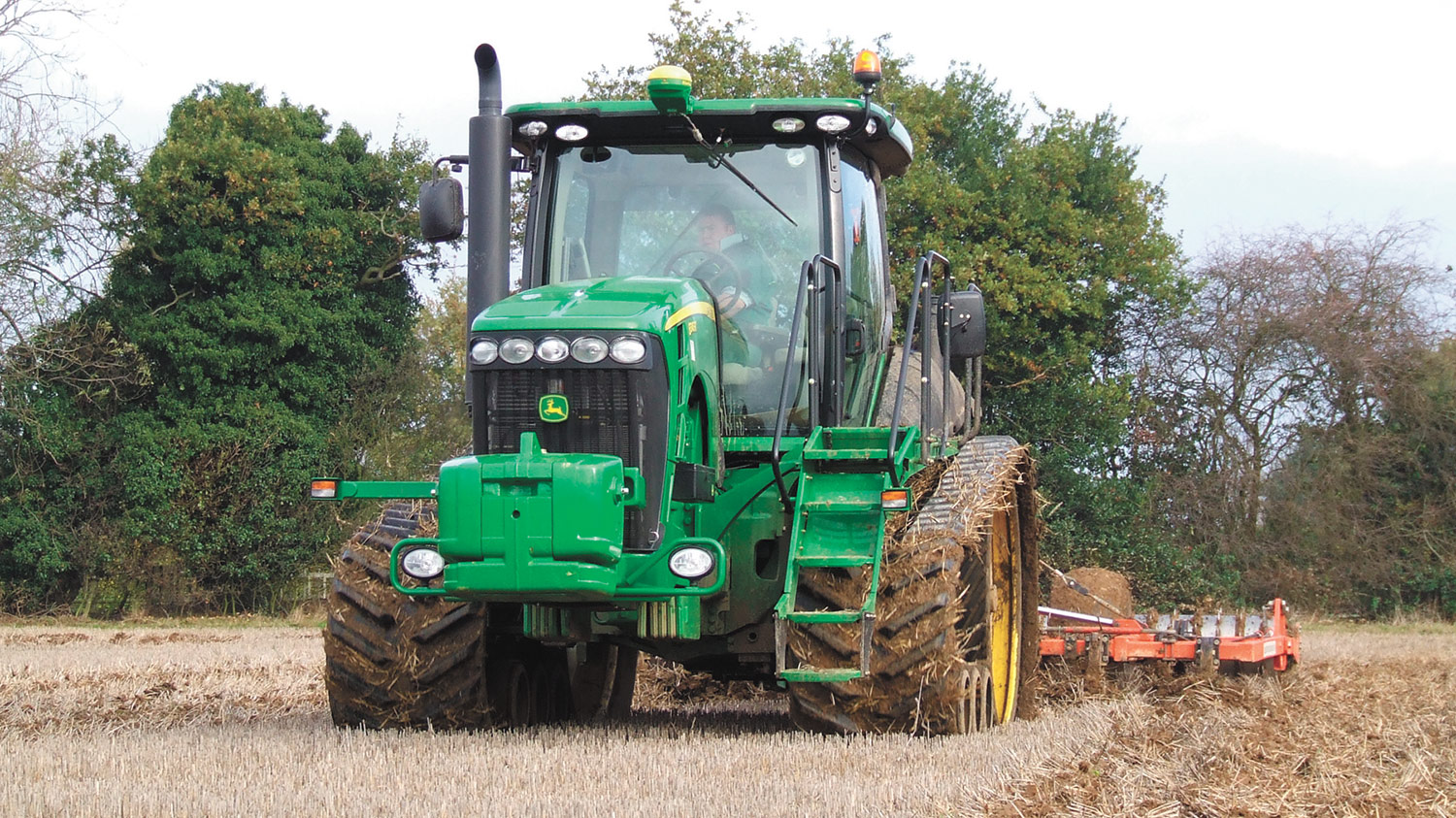 First drive: New tracked John Deere meets expectations