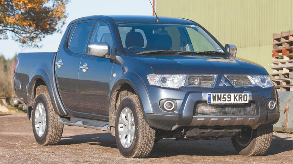 On test: Mitsubishi L200 Barbarian Long Bed