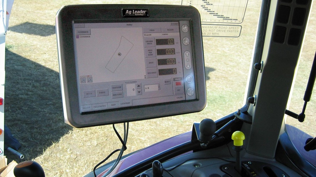 Precision farming uptake slow