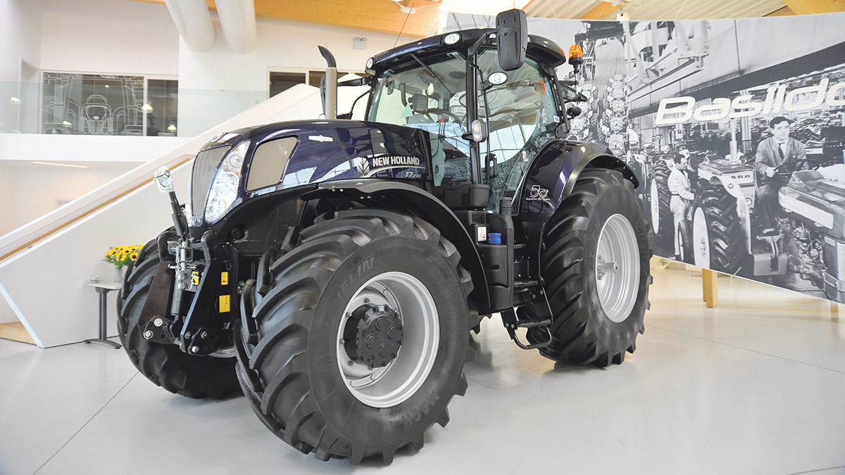 New Holland celebrates 50 years of tractor production at Basildon