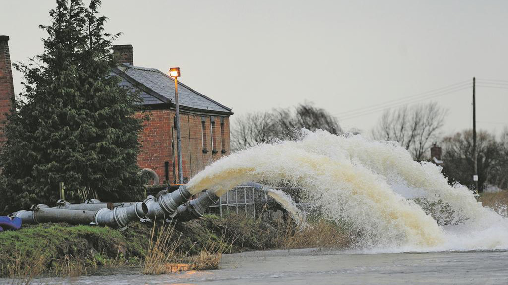 Farmers affected by flooding can claim grants between £300 and £20,000