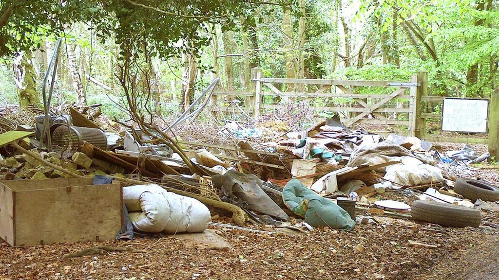 Fears for the countryside as fly-tipping scourge worsens