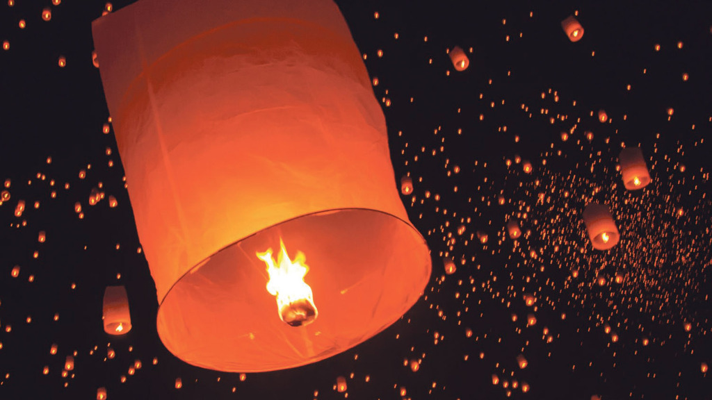 Farming Minister rules out ban on sky lanterns
