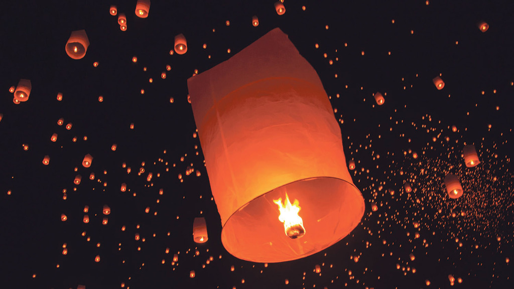 Two more Scottish councils ban sky lanterns
