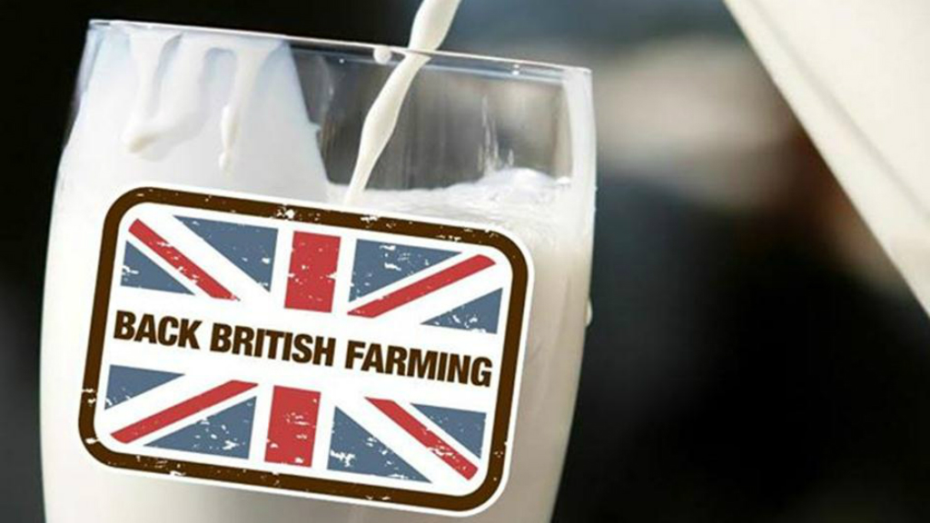 Consumers backing British dairy farmers - NFU