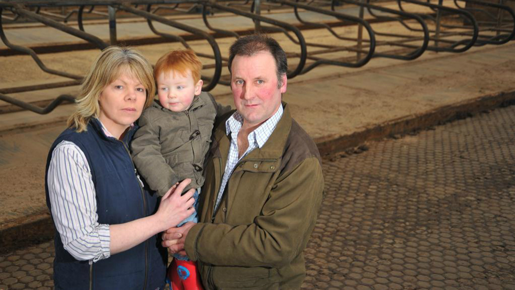 Family's bovine TB nightmare highlights horror of the disease