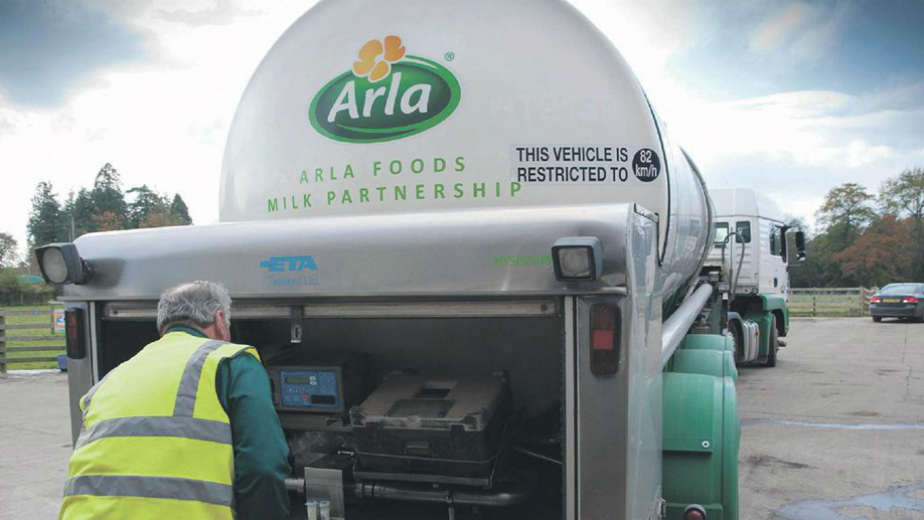 Arla makes its case clear
