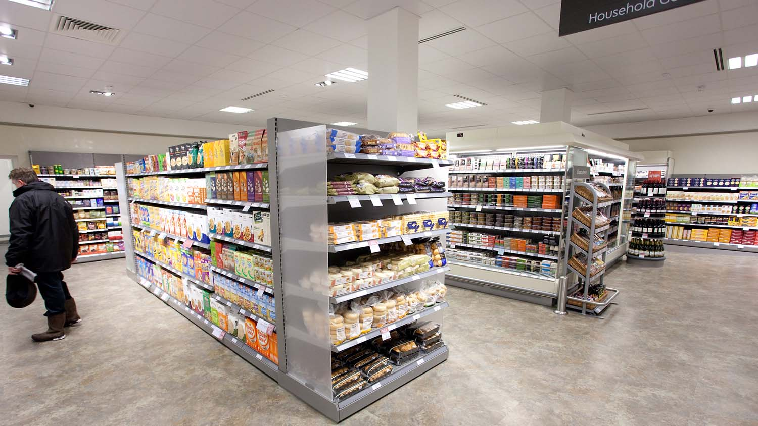 Supermarket price war continues to stall retail sector