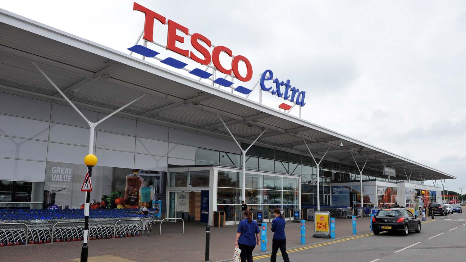 Tesco now holds 28.3 per cent of the grocery market