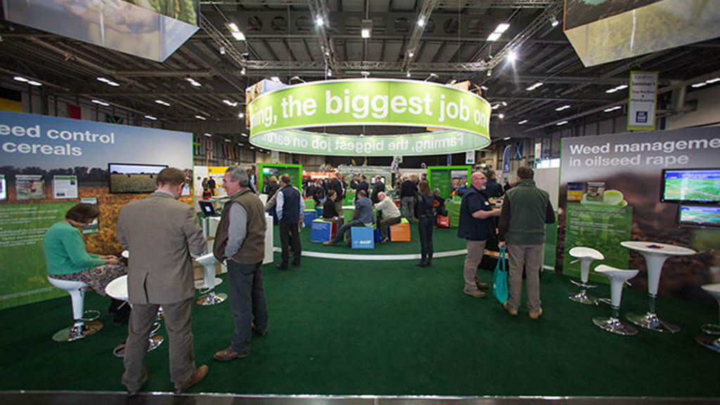 Precision equipment showcased at CropTec 2013