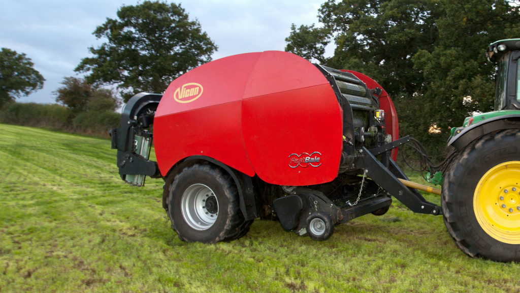Vicon enters non-stop round baler battle