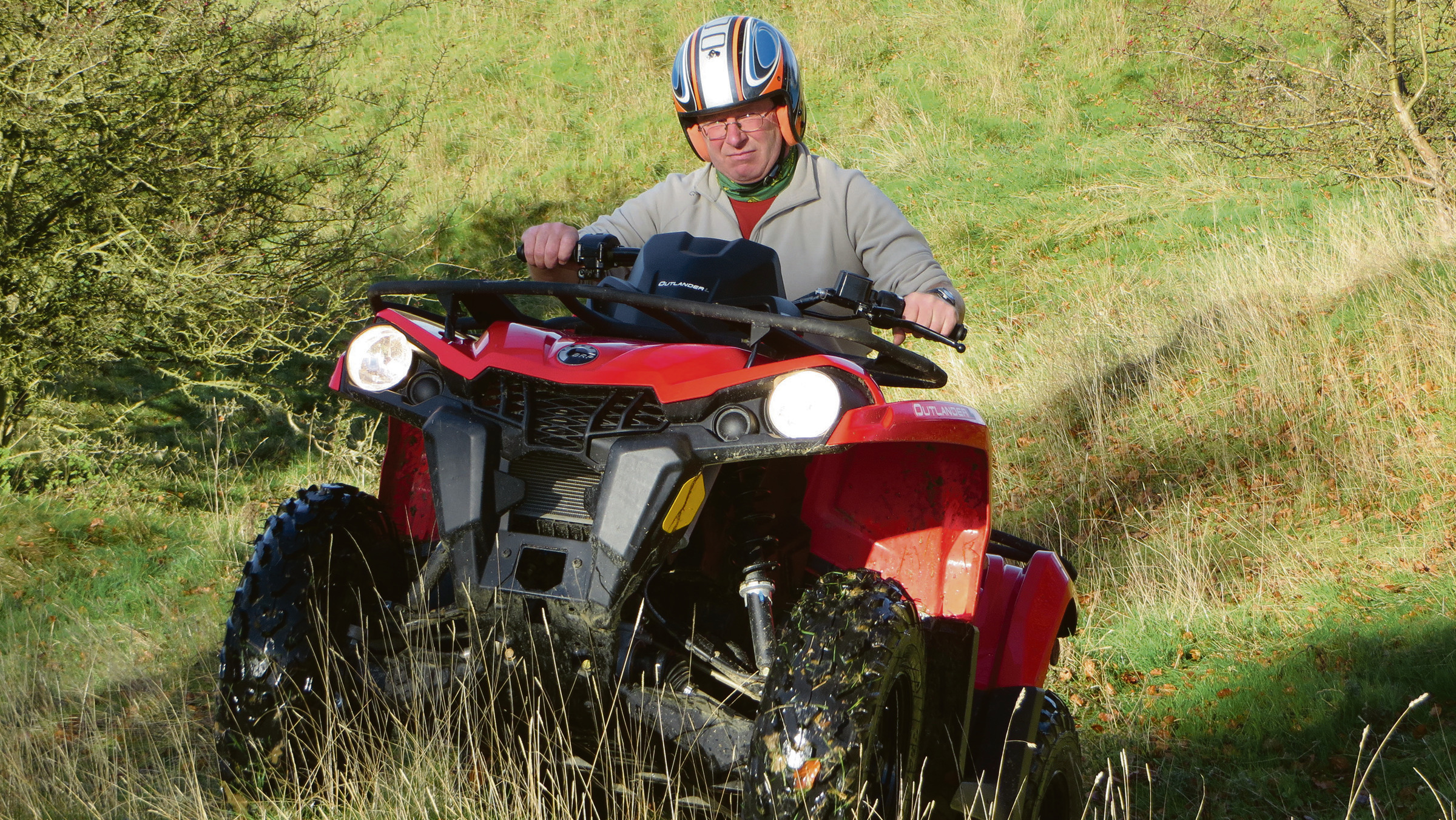 On test: BRP's Two new utility quad bikes
