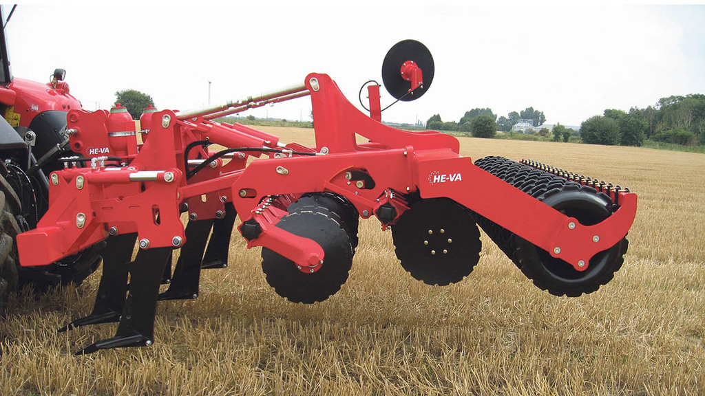 One pass cultivator