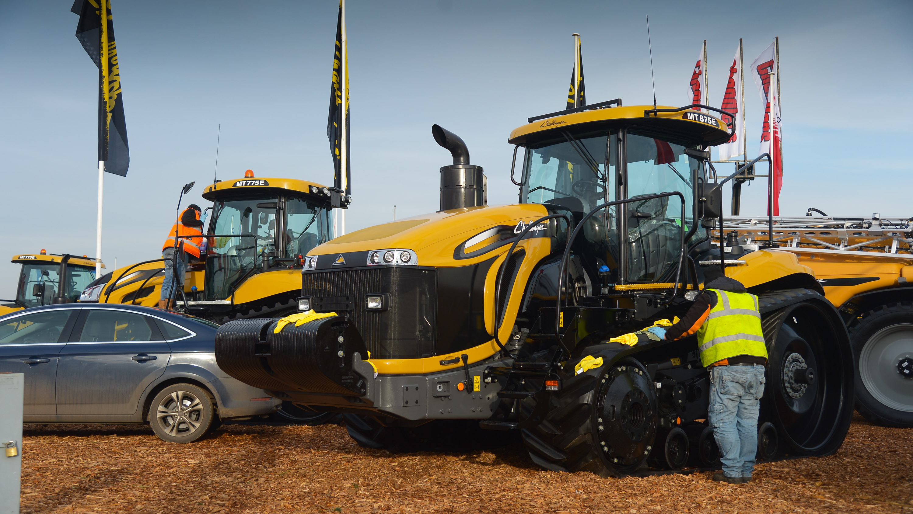 LAMMA 2015: Show set up day