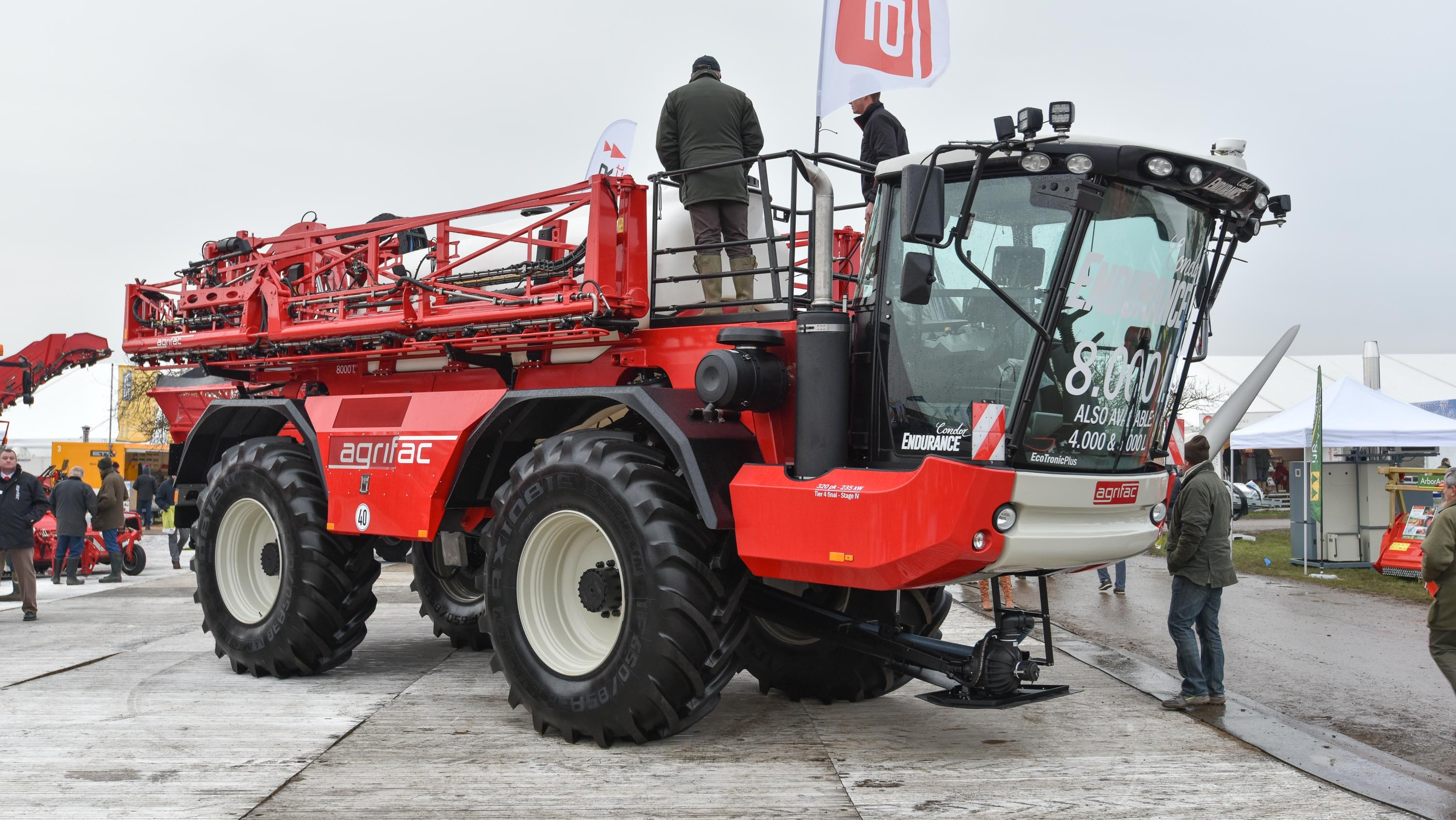 Agrifac Condor Endurance self-propelled sprayer