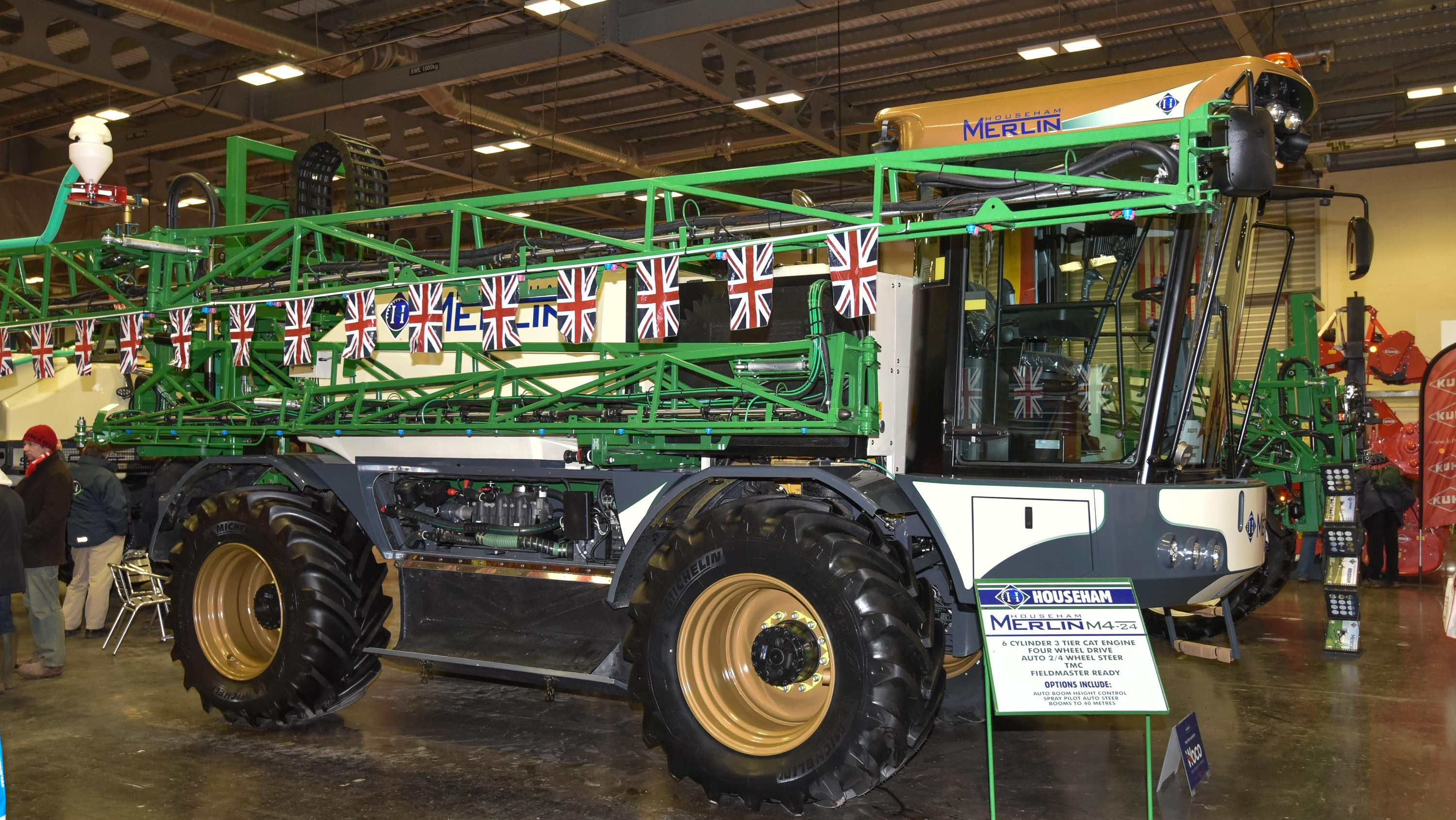 Househam's 100th Merlin sprayer