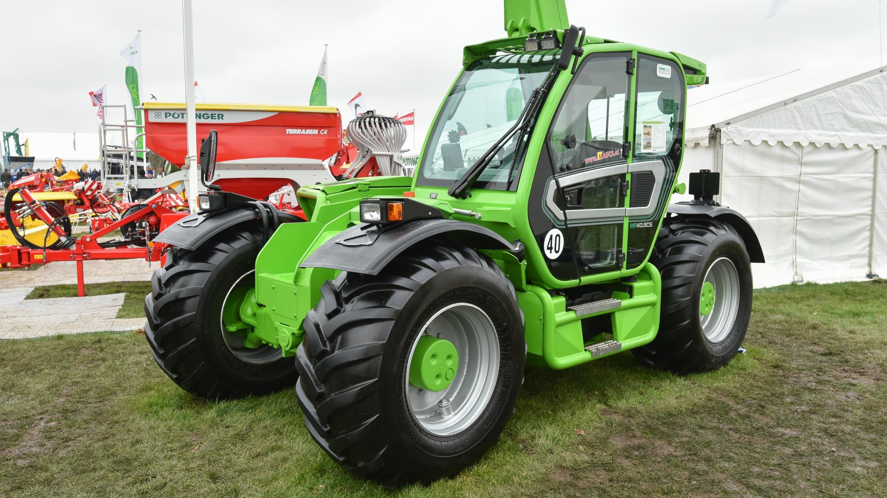 Merlo P50.8CS telescopic handler