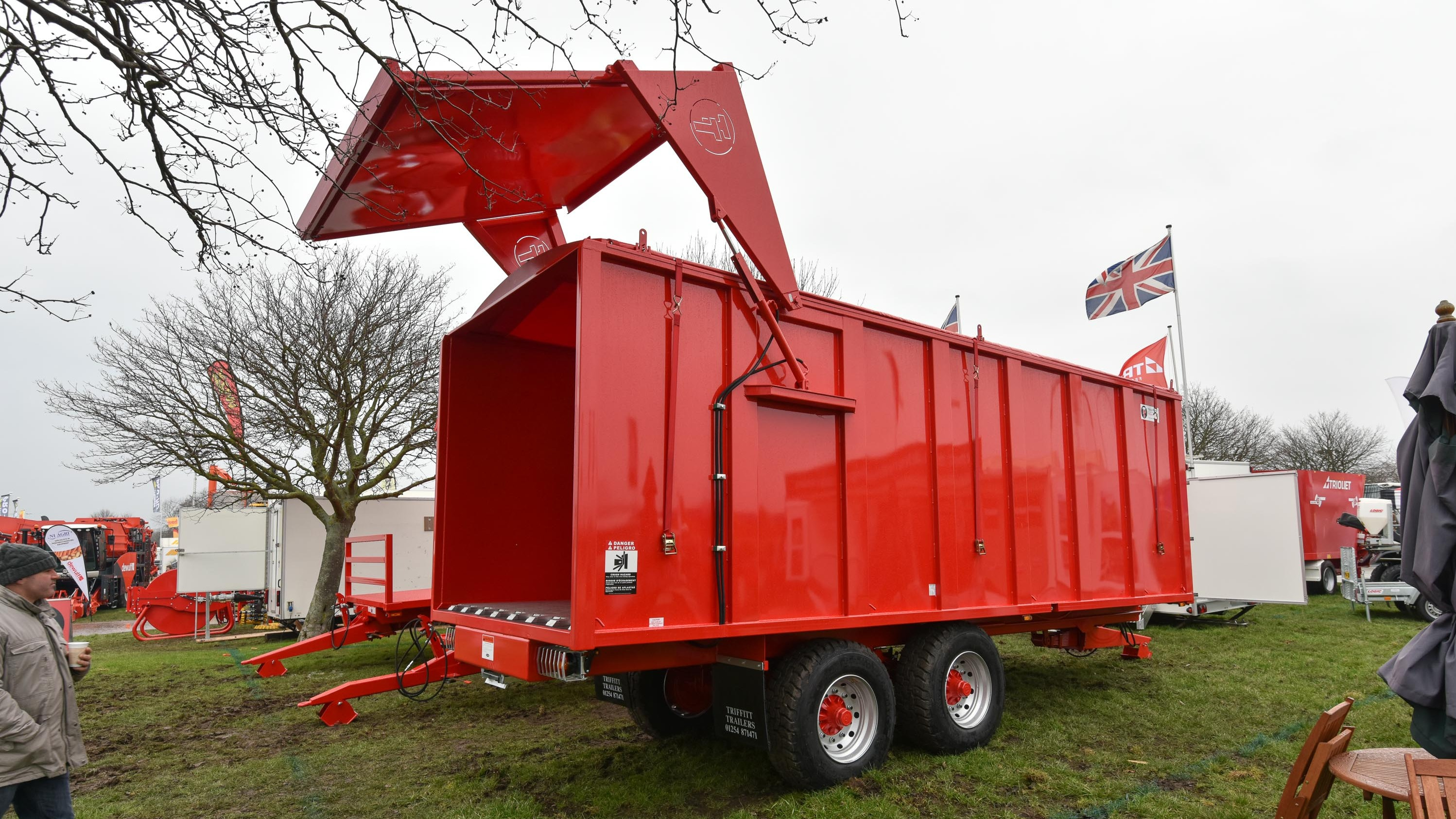 Triffit Biomass Trailer