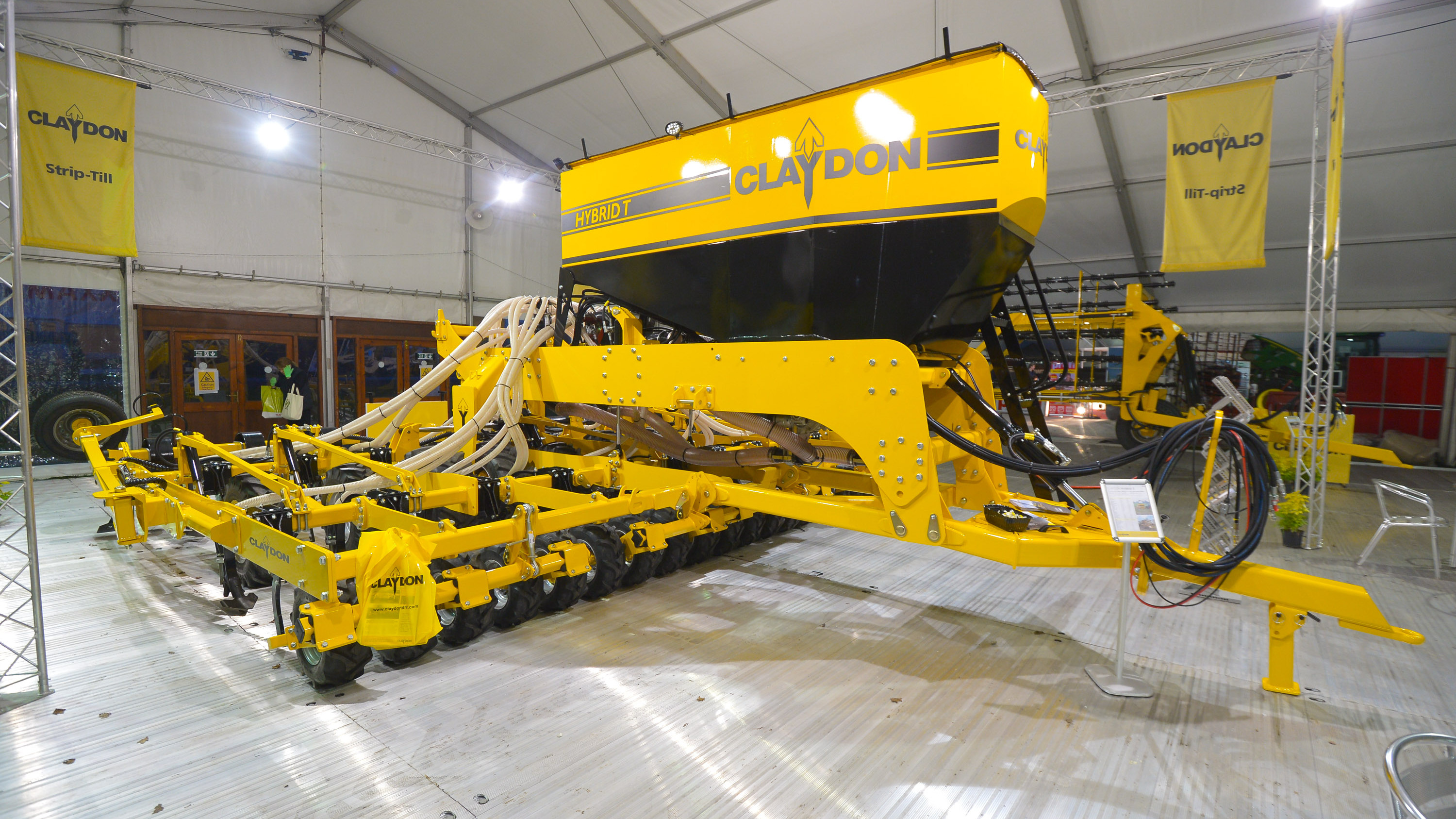 Claydon front press option for Hybrid T drill