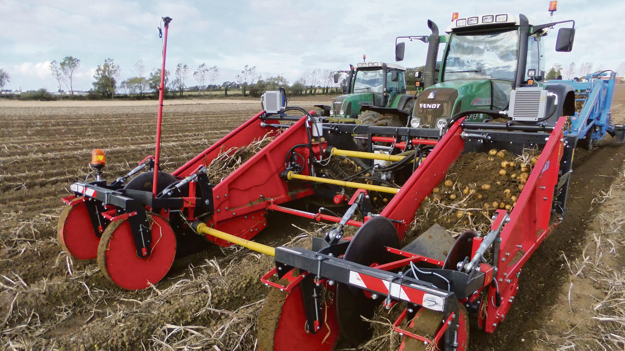 Scottish demo for Tolmac front-mounted windrower