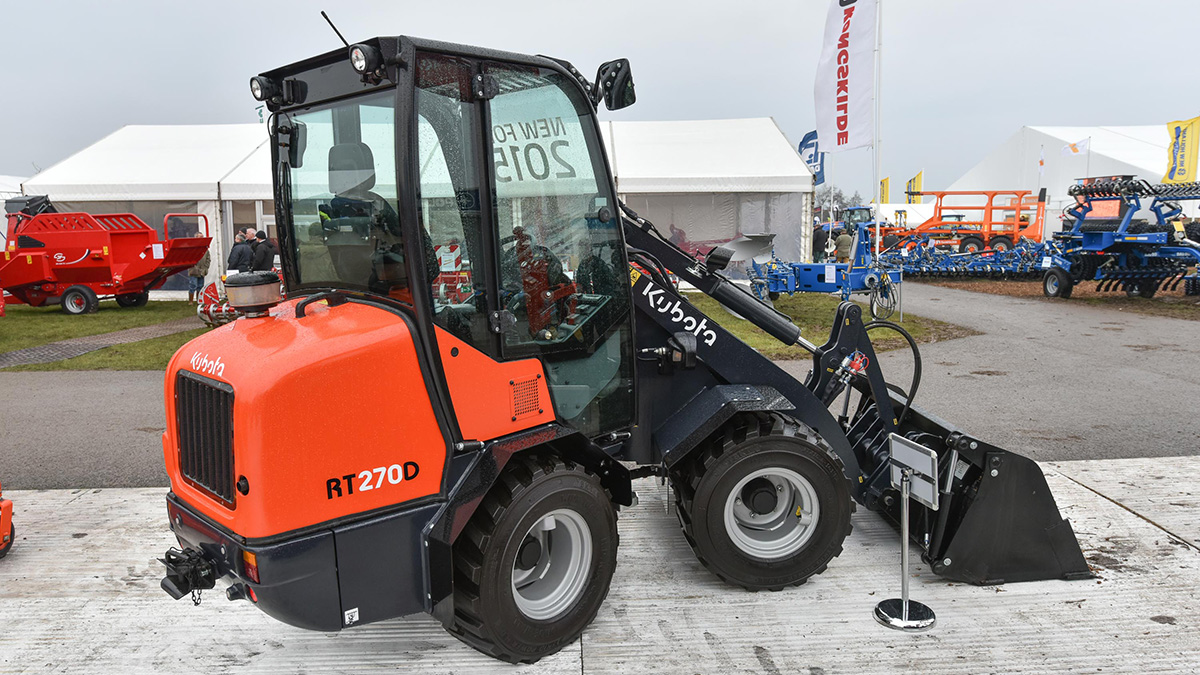 Kubota compact wheeled loaders