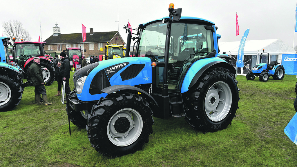 Landini adds smaller tractors to range