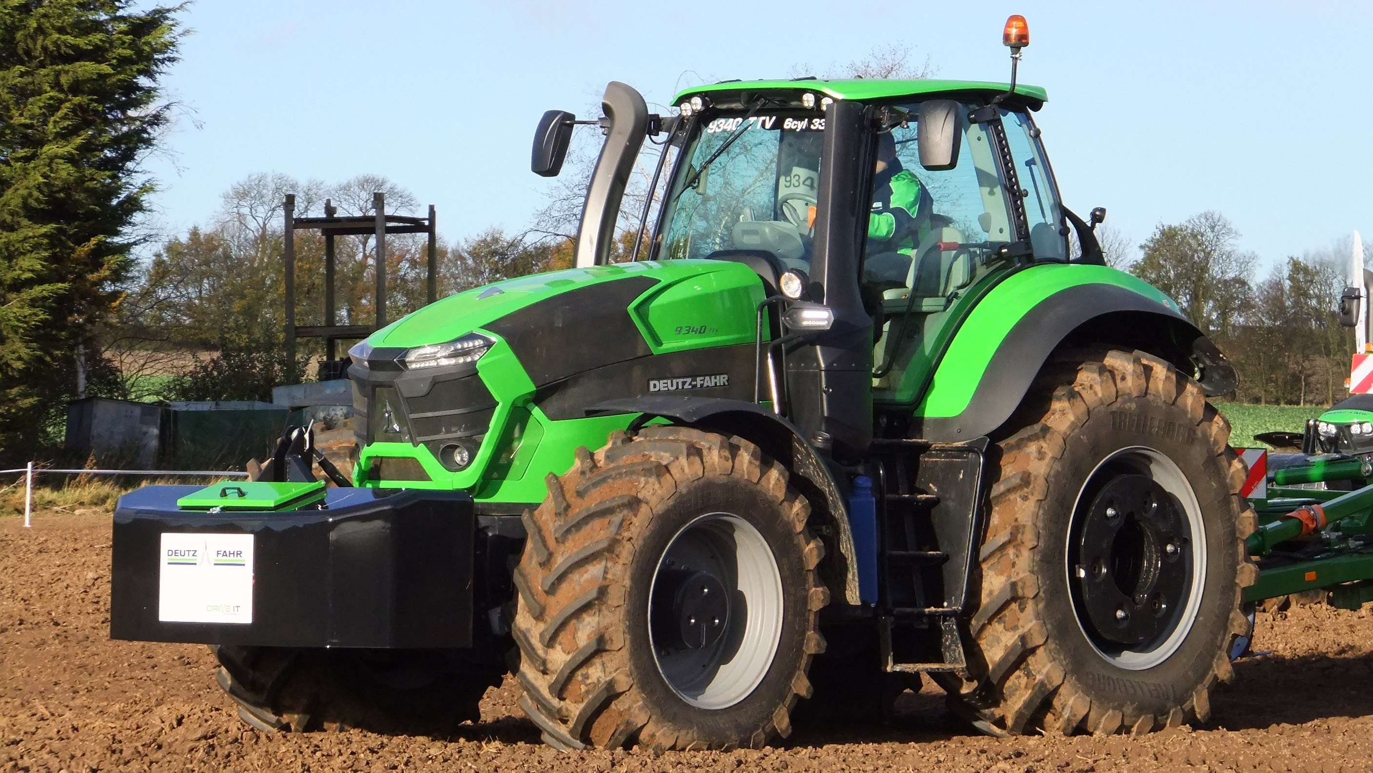 First drive: Is the new Deutz-Fahr 9 Series tractor as good as it looks?