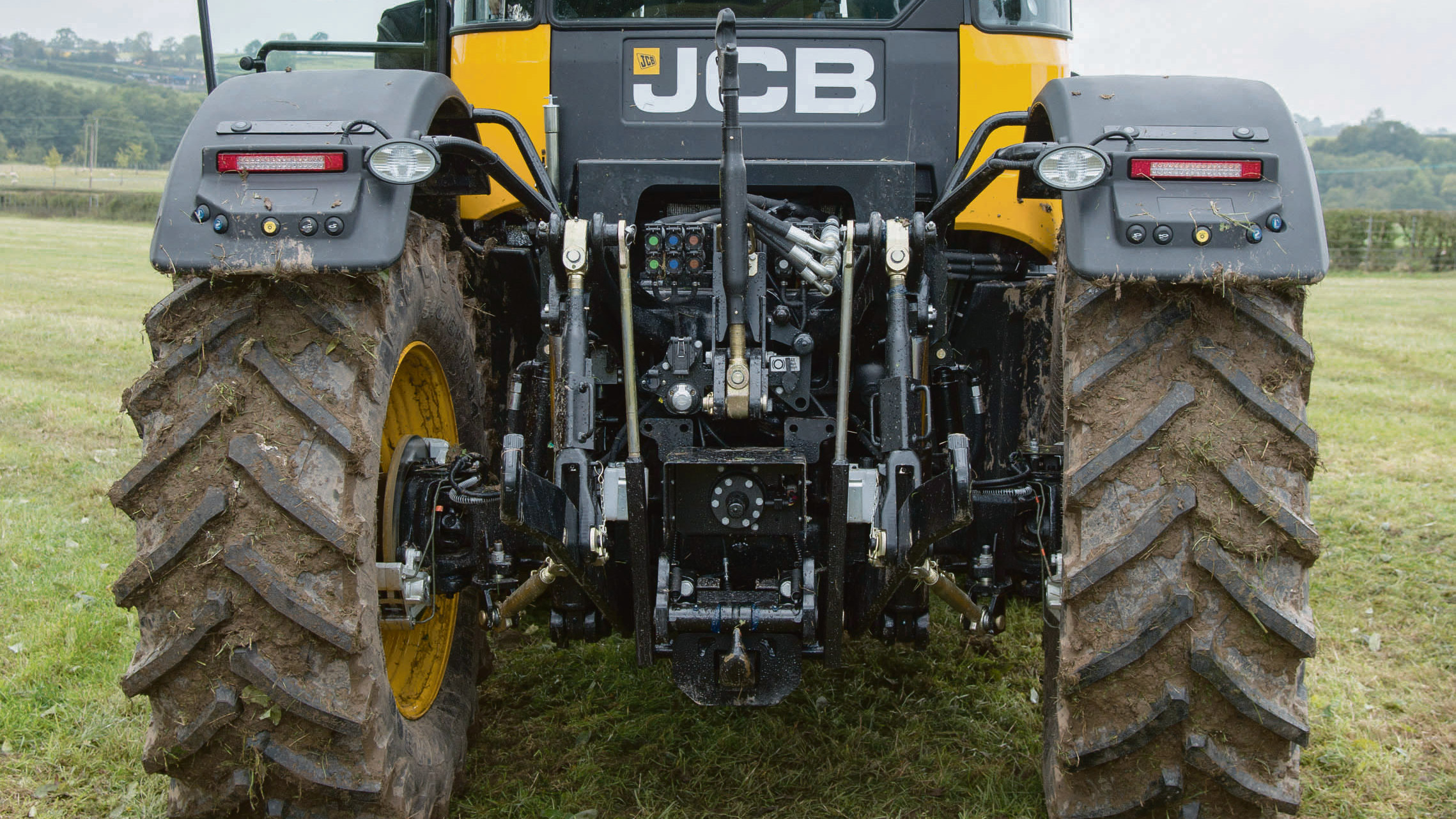 JCB rear and chassis