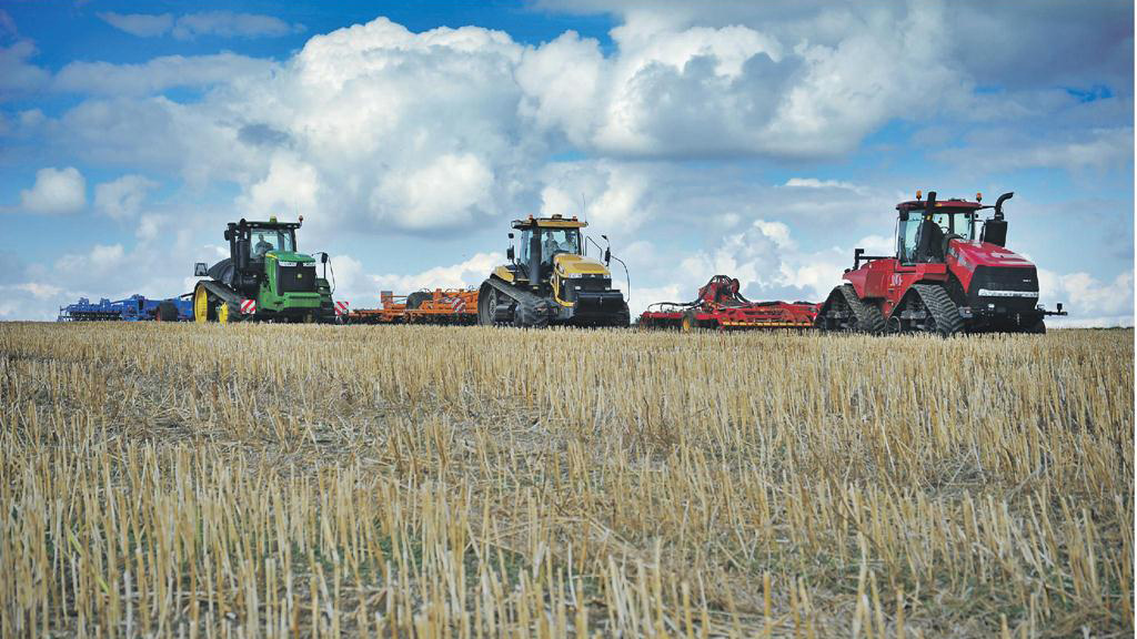 Tracked tractors on test: FG verdict of three arable giants