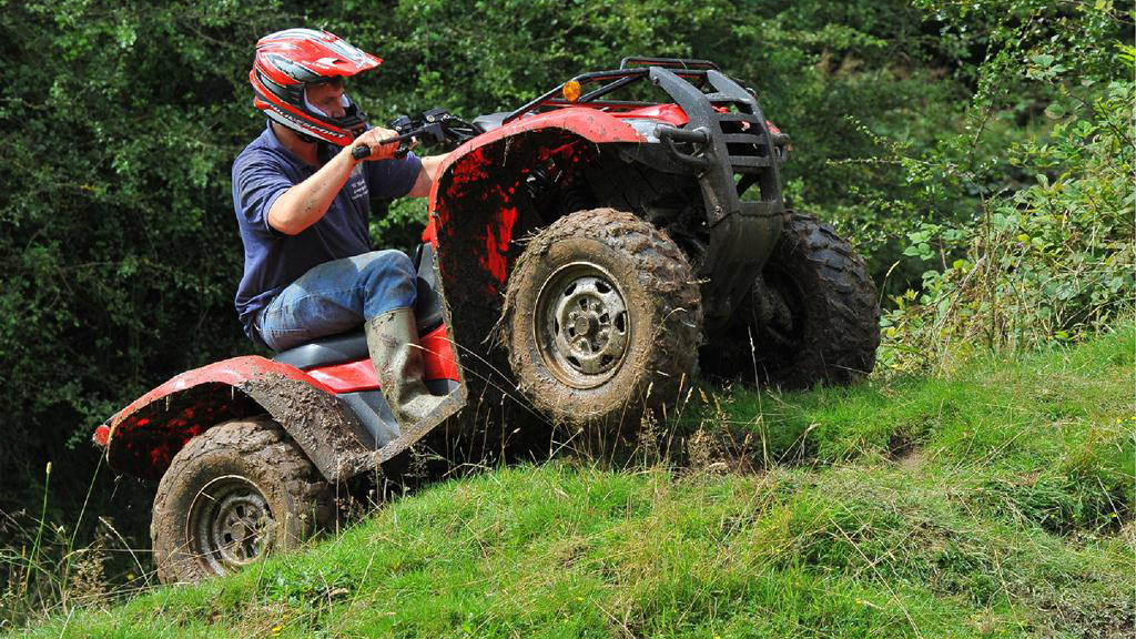 On test: Honda Fourtrax ATV