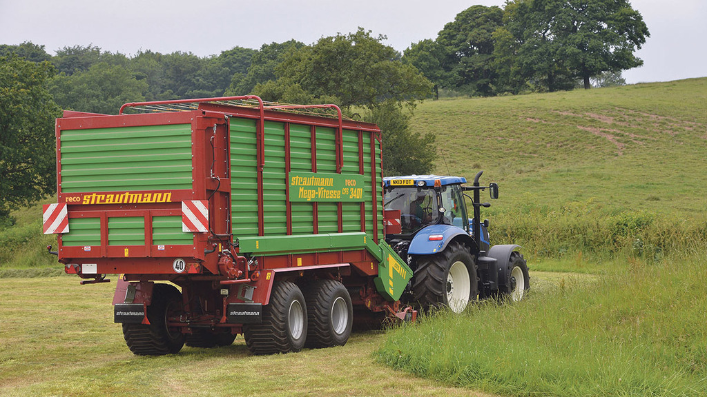 On test: Strautmann Mega-Vitesse CFS 3401 forage wagon