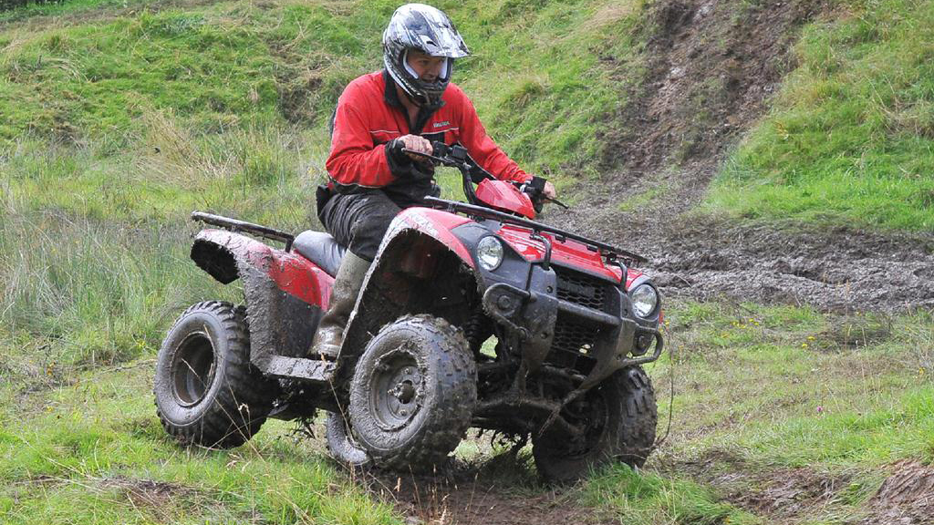 On test: Kawasaki KVF 300 ATV