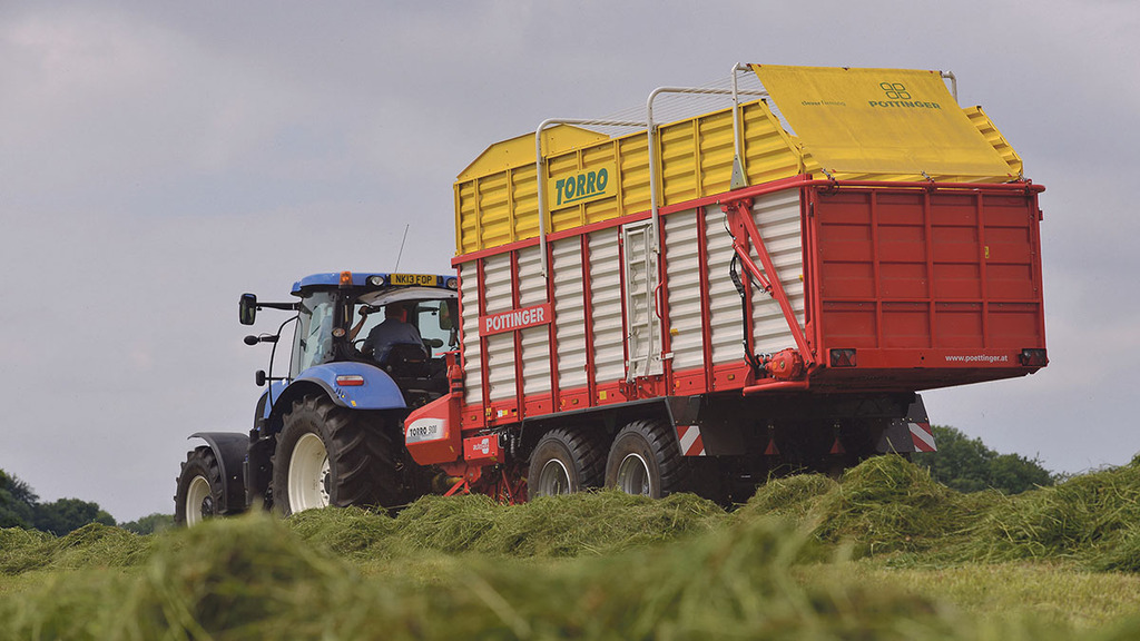 On test: Pottinger Torro 5100 Powermatic forage wagon