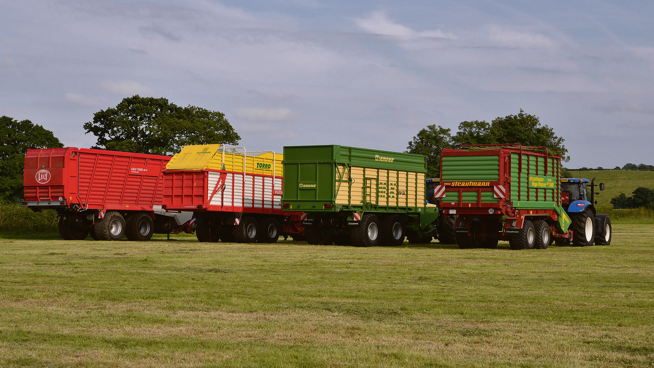 Forage wagons on test: Top makes tested as forage wagons see a resurgence