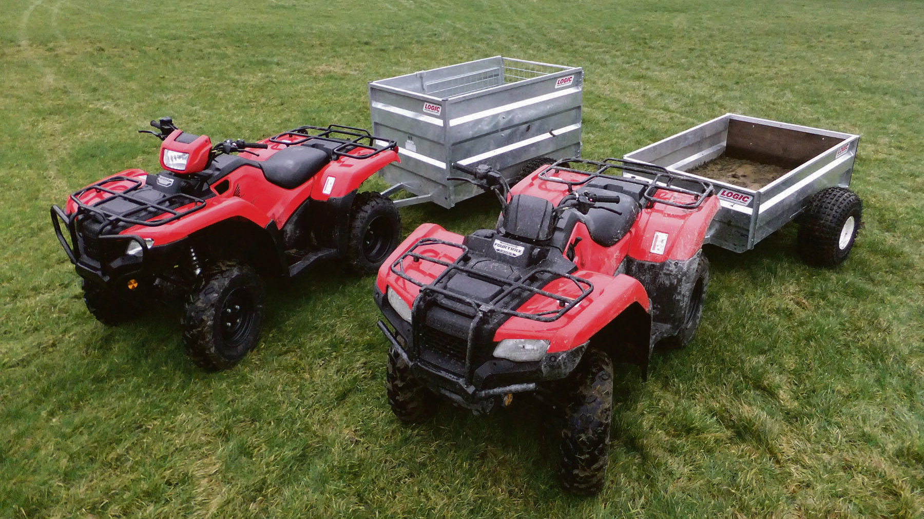 On test: Honda's latest TRX 420 and 500 ATV models