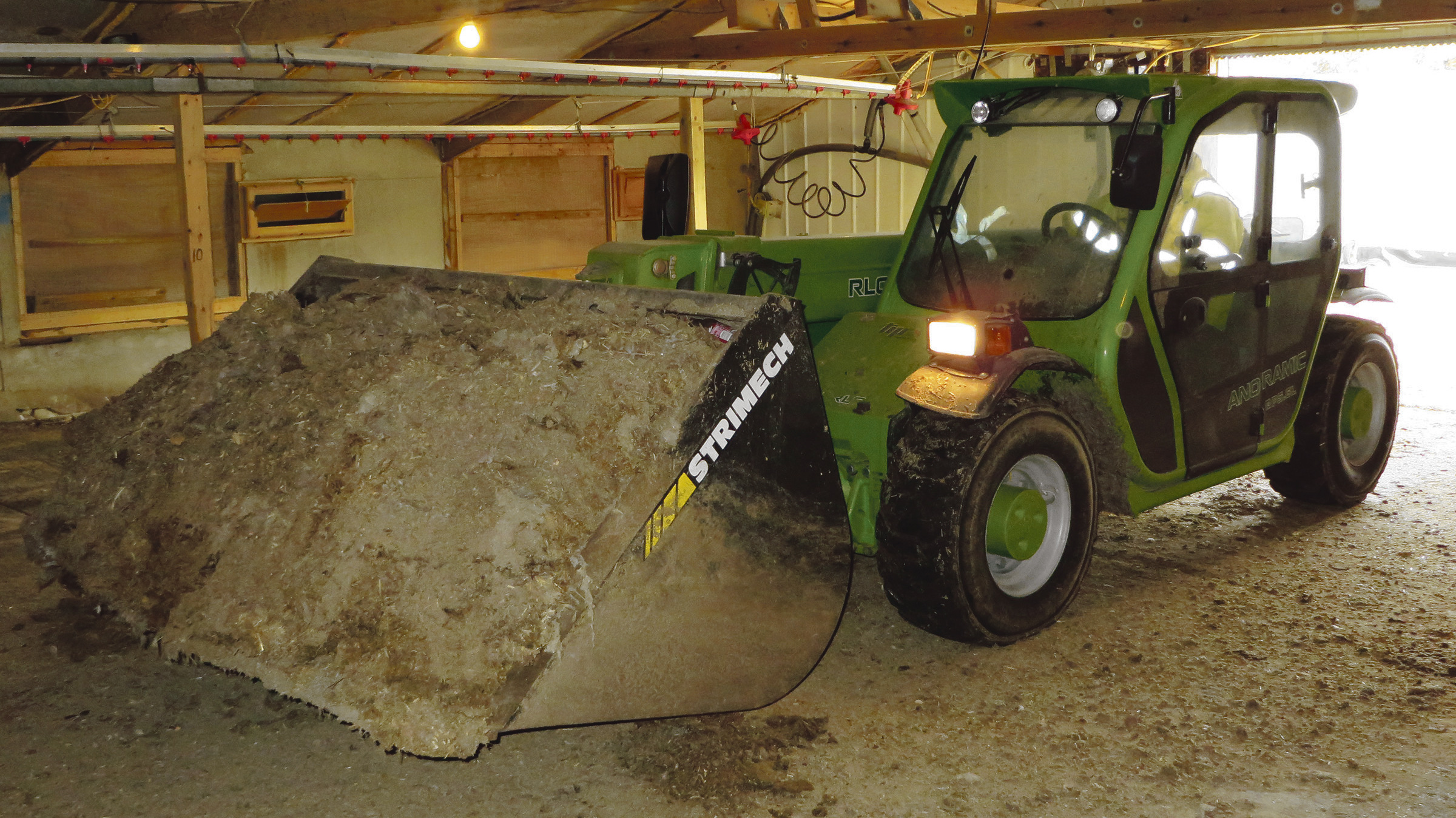 Low-profile Merlo telehandler combines best of both worlds