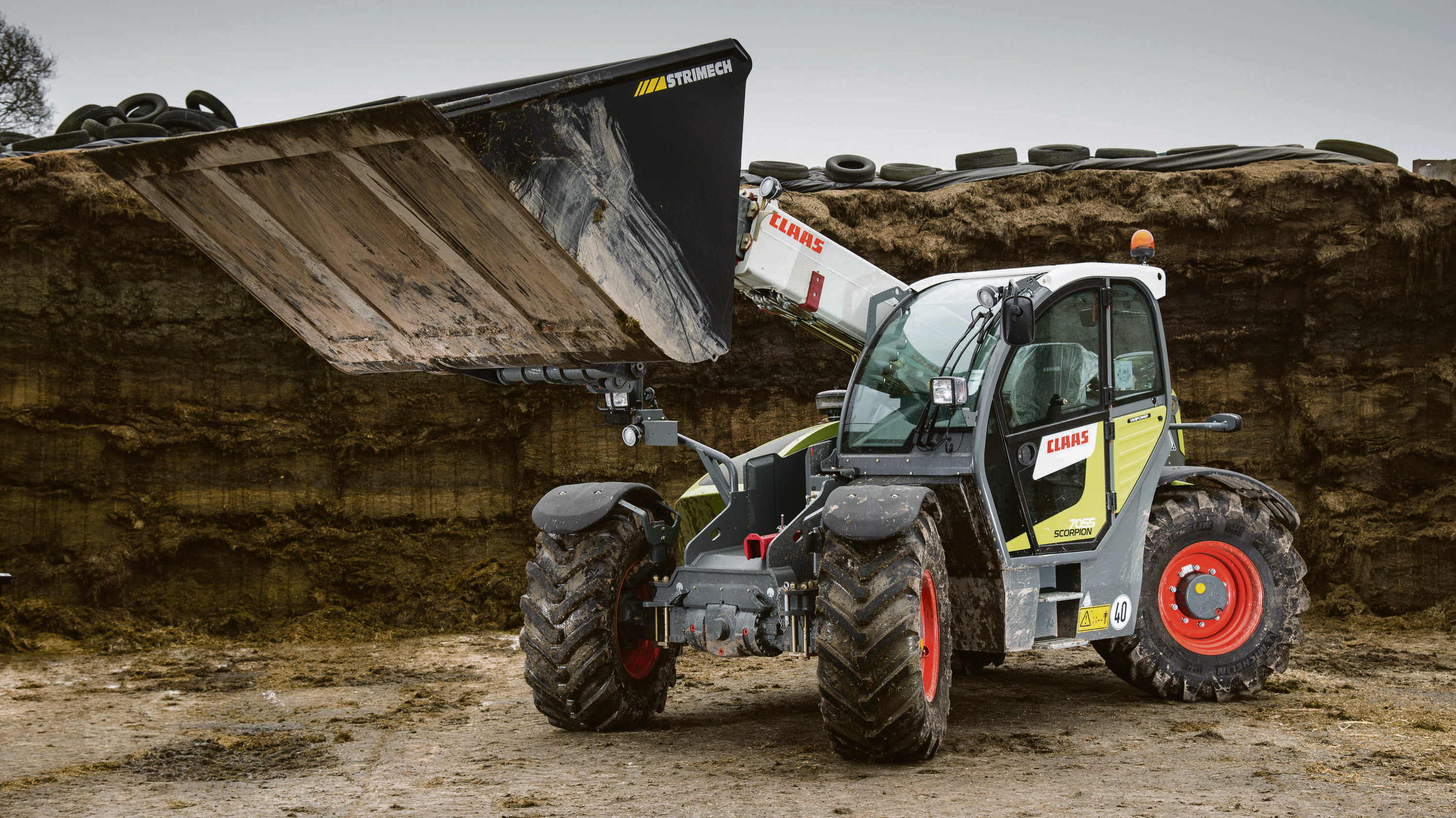 On test: New Claas Scorpion telehandlers offer plenty of functionality