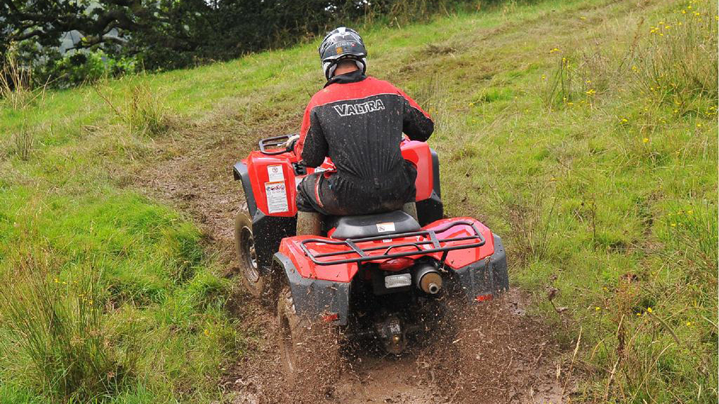 On test: Suzuki Kingquad 400 ATV