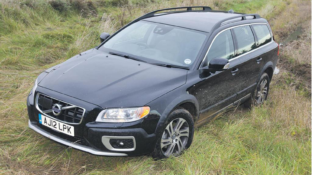Volvo's Cross Country XC70 does the job