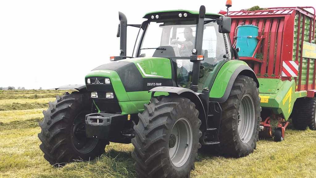 On test: Deutz 6 Series Agrotron tractor